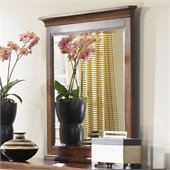 Magnussen Harrison Wood Framed Landscape Mirror