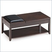 Magnussen Scarborough Wood Lift Top Cocktail Table in Chestnut