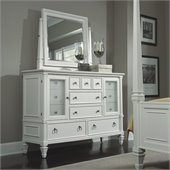 Magnussen Ashby Twelve Drawer Dresser and Mirror Set