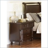 Magnussen Belcourt Wood 3 Drawer Nightstand