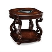 Magnussen Harcourt Wood Square End Table 