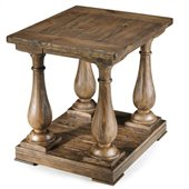 Magnussen Densbury Wood Rectangular End Table 