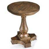 Magnussen Densbury Wood Rectangular Accent Pedestal End Table
