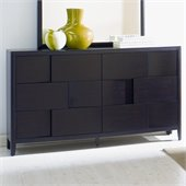 Magnussen Nova 6 Drawer Double Dresser in Espresso Finish