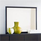 Magnussen Nova Landscape Mirror in Espresso Finish