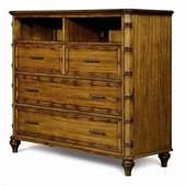 Magnussen Palm Bay 3 Drawer Media Chest in Toffee Finish