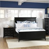 Magnussen Southampton Storage Panel Bed 2 Piece Bedroom Set in Black