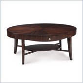 Magnussen Aster Wood Oval Cocktail Table
