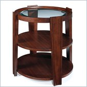 Magnussen Nuvo Wood Oval End Table