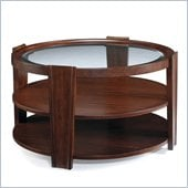 Magnussen Nuvo Wood Round Cocktail Table