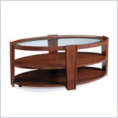 Magnussen Nuvo Wood Oval Cocktail Table