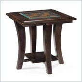 Magnussen Tivoli Wood Rectangular End Table