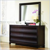 Magnussen Meridian Dresser and Mirror Set