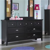 Magnussen Bennett 7 Drawer Dresser  in Black Finish