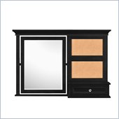 Magnussen Bennett Vanity Mirror in Black Finish