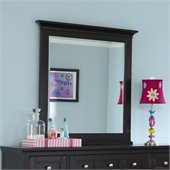 Magnussen Bennett Portorait Mirror in Black Finish