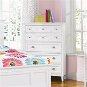 Magnussen Kenley 5 Drawer Chest  in White Finish