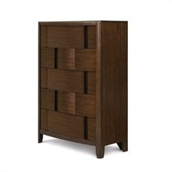 Magnussen Twilight Five Drawer Chest in Chestnut