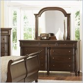 Magnussen Belcourt Dresser and Mirror Set