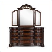 Magnussen Stafford Dresser and Mirror Set