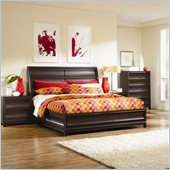 Magnussen Meridian California King Island Bed with Storage in Espresso