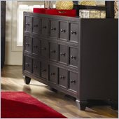 Magnussen Julian Wood 6 Drawer Dresser in Antique Ebony