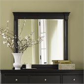 Magnussen Regan Wood Mirror in Black