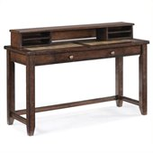 Magnussen Allister Wood Sofa Table Desk in Cinnamon