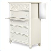 Magnussen Cameron Wood 5 Drawer Chest in White