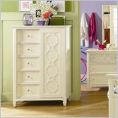 Magnussen Cameron Wood 5 Door Chest in White