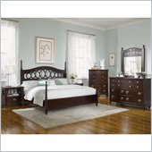 Magnussen Jeanette Poster Bed in Chestnut