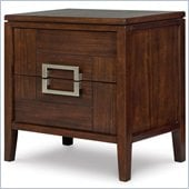 Magnussen Carleton 2 Drawer Nightstand in Sable