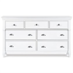 Magnussen Kasey 7 Drawer Dresser in White