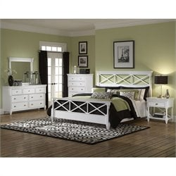 Magnussen Kasey Panel Bed in White