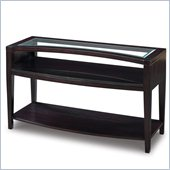 Magnussen Areva Rectangular Sofa Table in Merlot