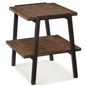 Magnussen Lawton Rectangular End Table in Natural Pine