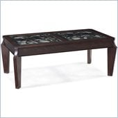 Magnussen Ombrio Rectangular Cocktail Table in Cherry
