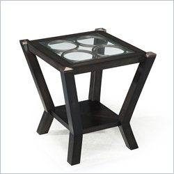 Magnussen Olvera Wood Square End Table