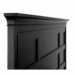 Magnussen Southampton Queen Panel Headboard in Black