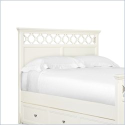 Magnussen Cameron Twin Panel Headboard in Off White