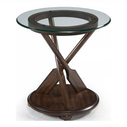 Magnussen Beaufort End Table in Dark Oak