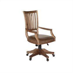 Magnussen H2596 Adler Desk Chair with Upholstered Seat