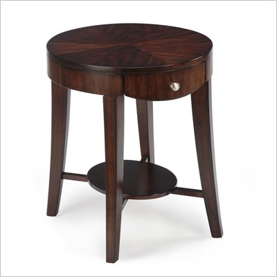 Magnussen Aster Wood Oval End Table