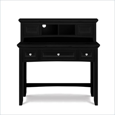 Magnussen Bennett Desk with Hutch in Black Finish