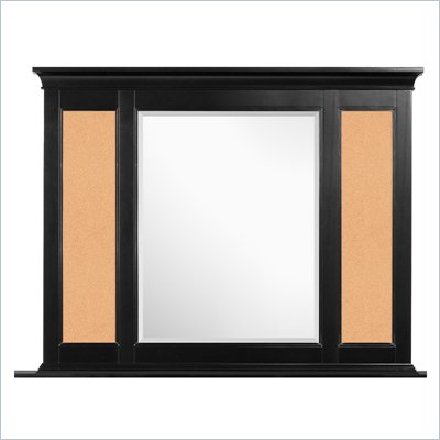 Magnussen Bennett Cork Mirror in Black Finish