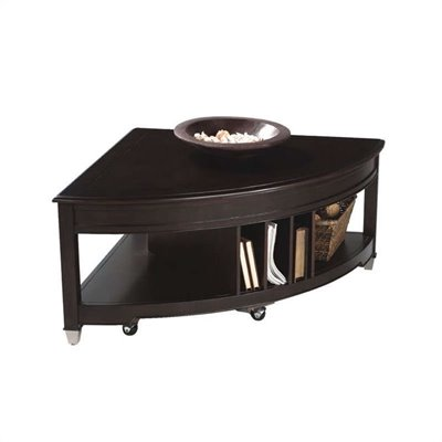 Magnussen Darien Pie Shaped Lift-top Cocktail Table