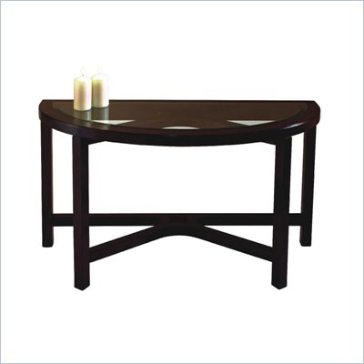 Magnussen Juniper Tables Demilune Sofa Table