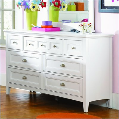 Magnussen Kenley 7 Drawer Dresser  in White Finish