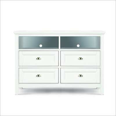 Magnussen Kenley Media Chest  in White Finish