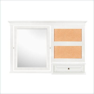 Magnussen Kenley Vanity Mirror in White Finish